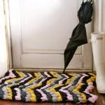 коврики трикотажной пряжей