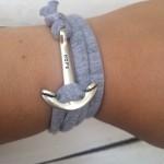 трикотажная пряжа браслет