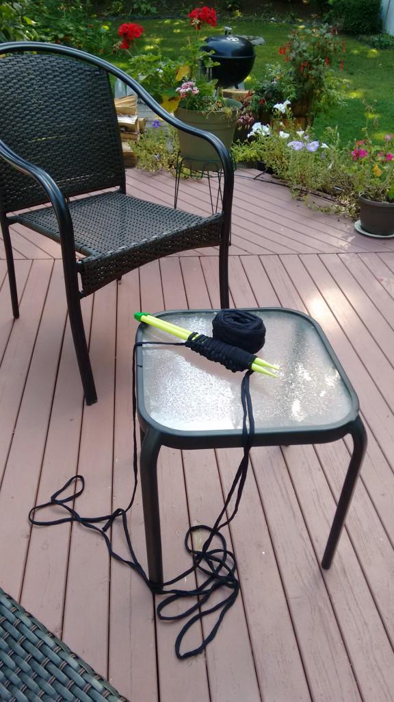 трикотажная пряжа колье спицами