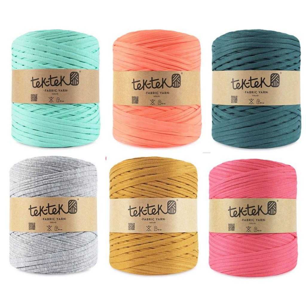 Трикотажные нитки для вязания ковриков цена 2