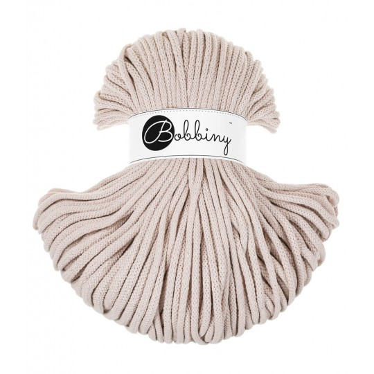 Хлопковый шнур Bobbiny Nude 5мм