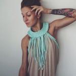 одежда из трикотажной пряжи