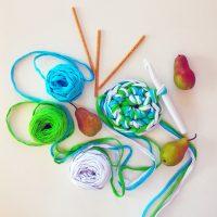 крючок для вязания большой