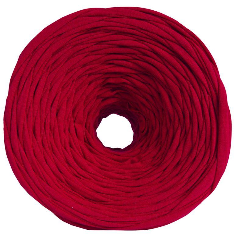 трикотажная пряжа красный