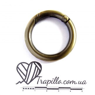 фурнитура кольцо карабин