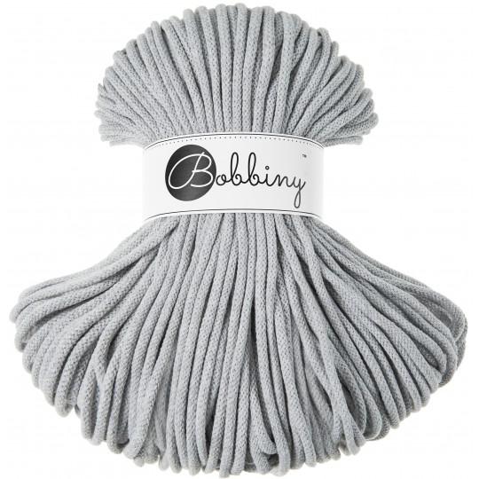 Хлопковый шнур Bobbiny Light grey 5мм