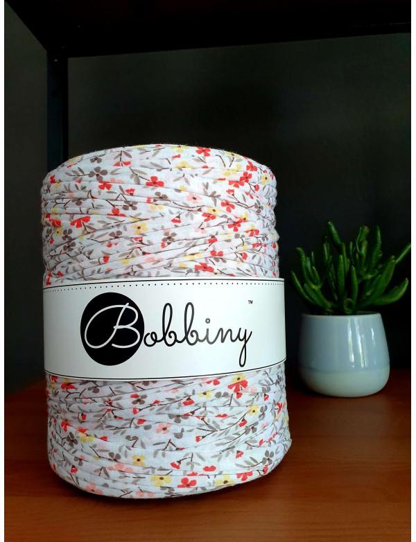 Трикотажная пряжа Bobbiny Цветочный узор