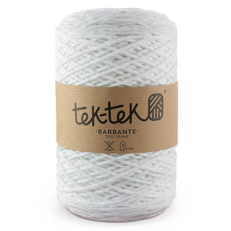 Шнур для макраме Tek-Tek Белый 3мм