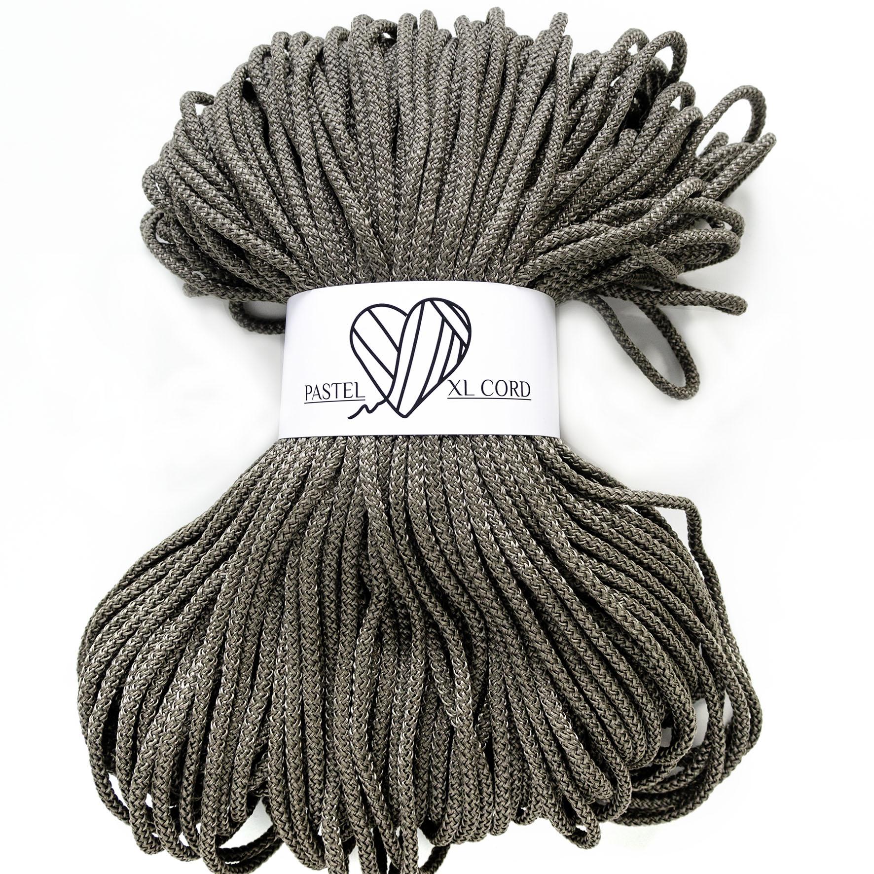 Полипропиленовый шнур Pastel XL cord Темная оливка