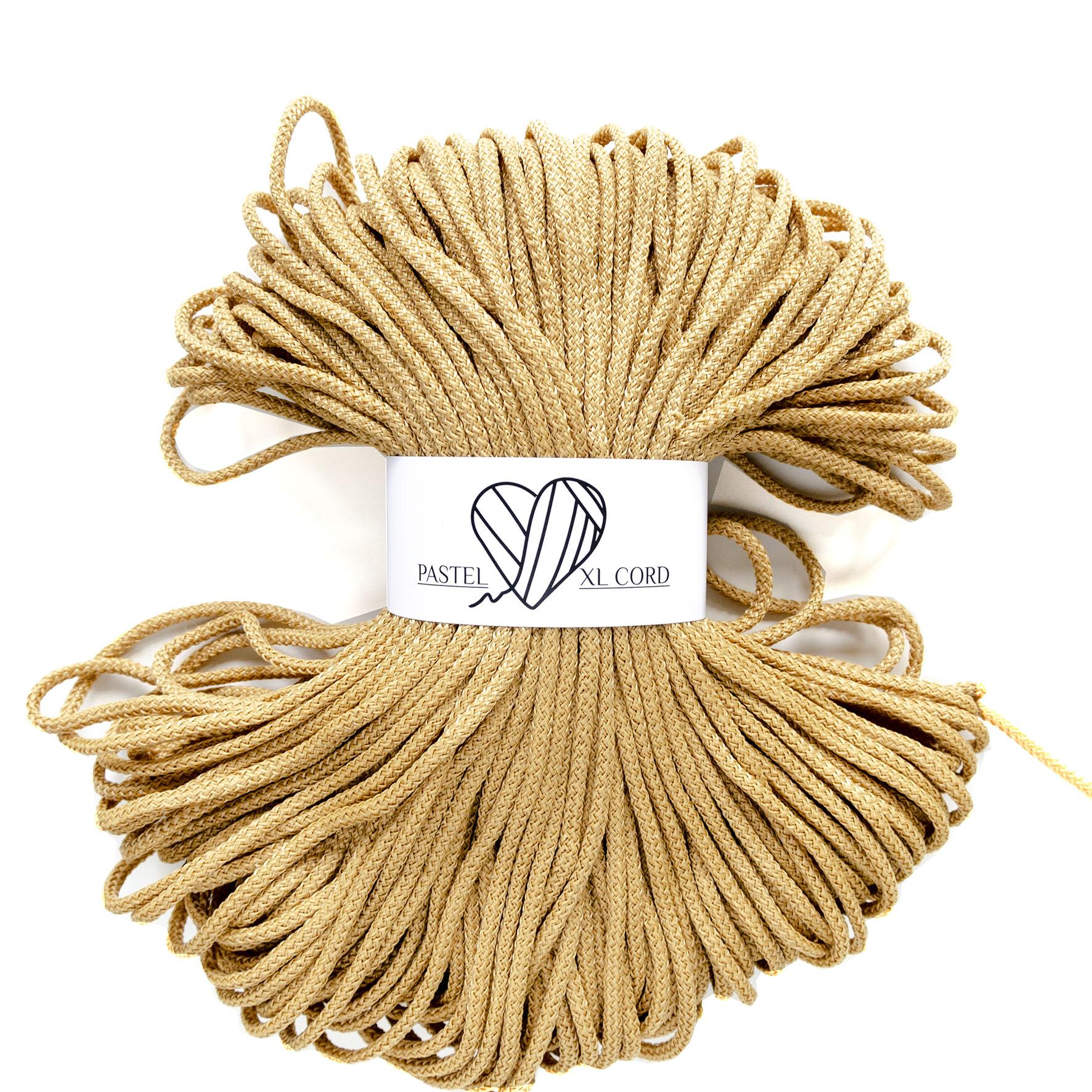 Полипропиленовый шнур Pastel XL cord Карамель