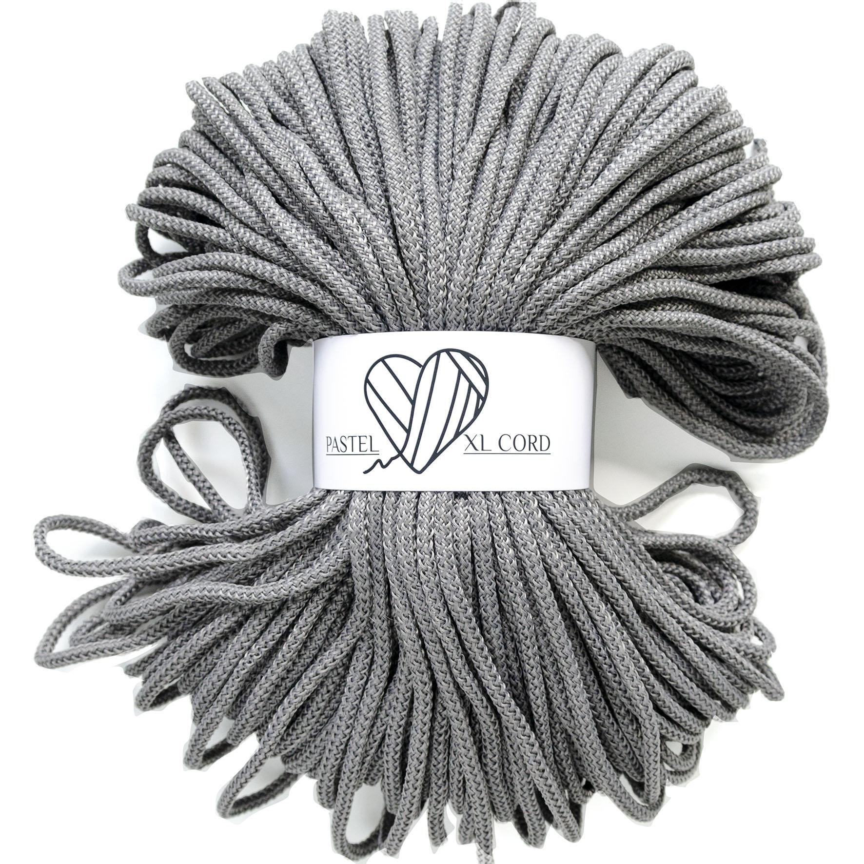 Полипропиленовый шнур Pastel XL cord Серый