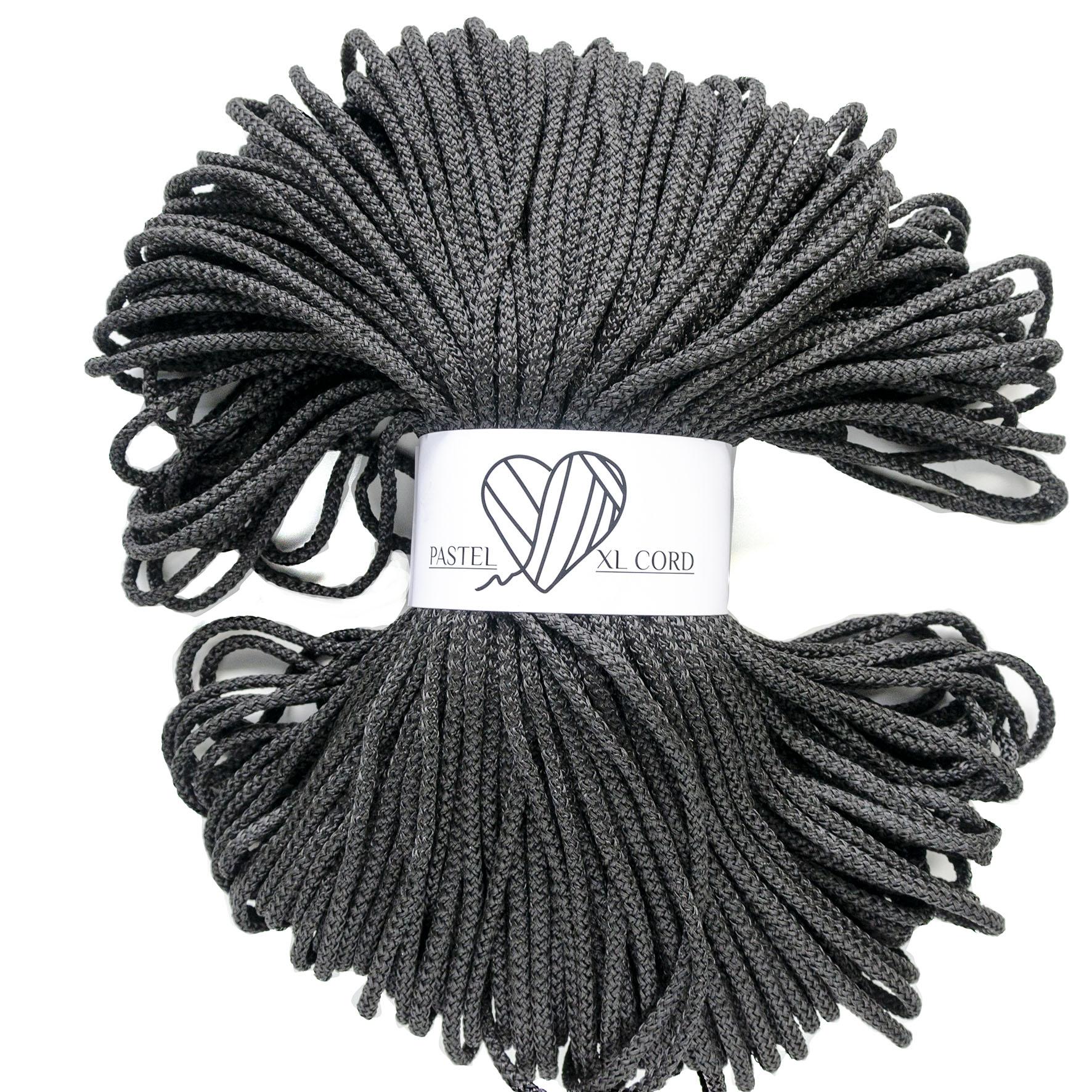 Полипропиленовый шнур Pastel XL cord Черный