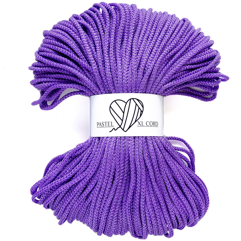 Полипропиленовый шнур Pastel XL cord Сирень