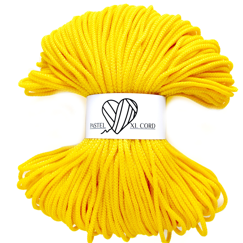 Полипропиленовый шнур Pastel XL cord Желтый