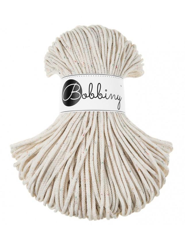 Трикотажный хлопковый шнур Bobbiny Rope Радужная Пыль 3мм
