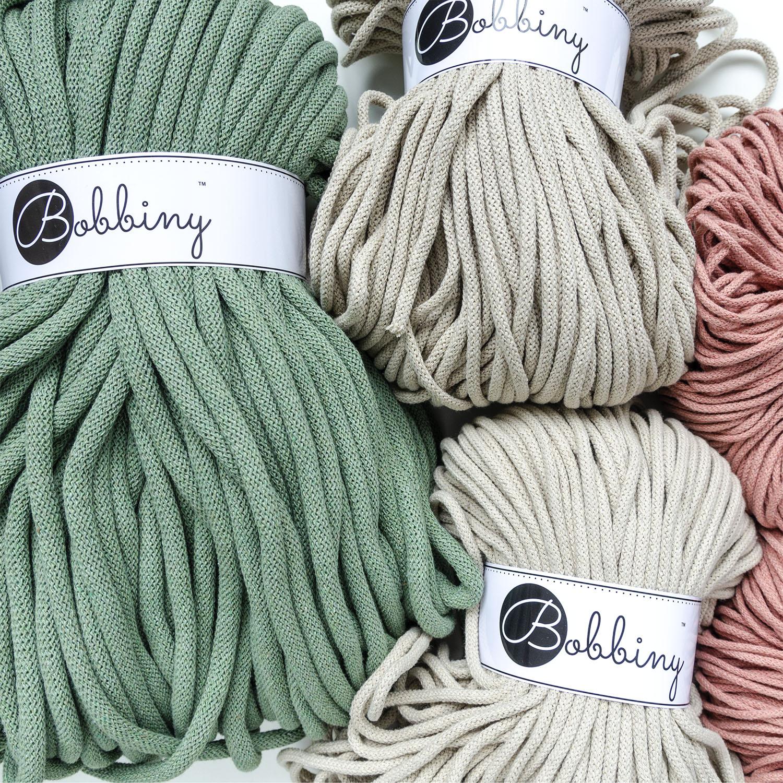 хлопковый шнур для вязания