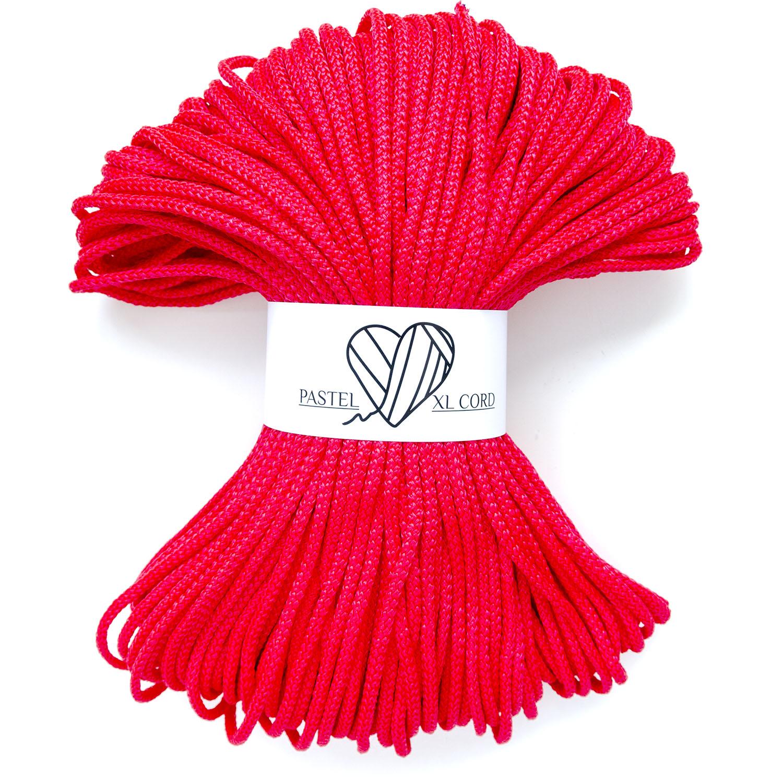 Полипропиленовый шнур Pastel XL cord Яркий Красный