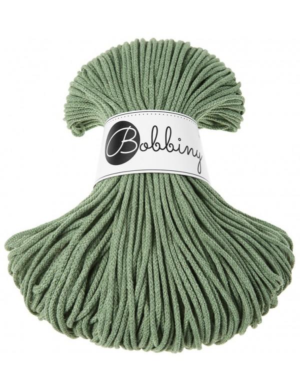 Трикотажный хлопковый шнур Bobbiny Эвкалипт 3мм