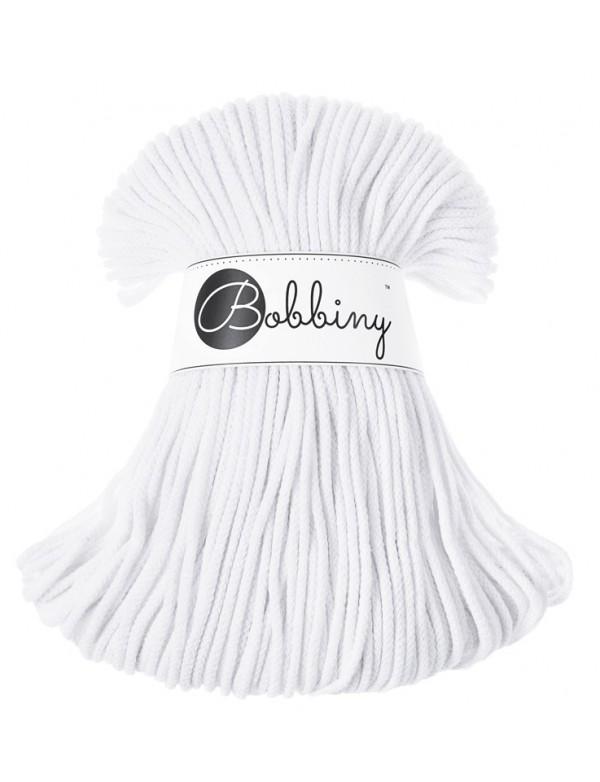 Хлопковый шнур Bobbiny Белый 3мм