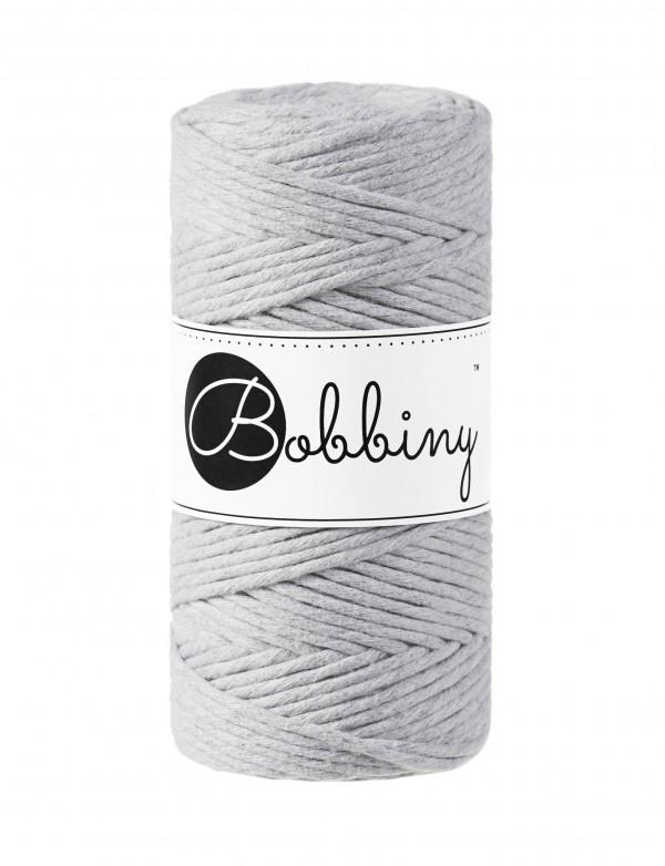 Шнур для макраме Bobbiny Светлый серый 3мм