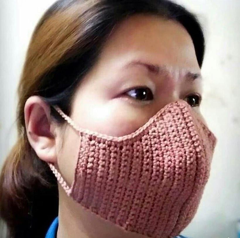 Вяжем маску