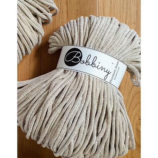 Хлопковый шнур для вязания Bobbiny Frappe 5мм