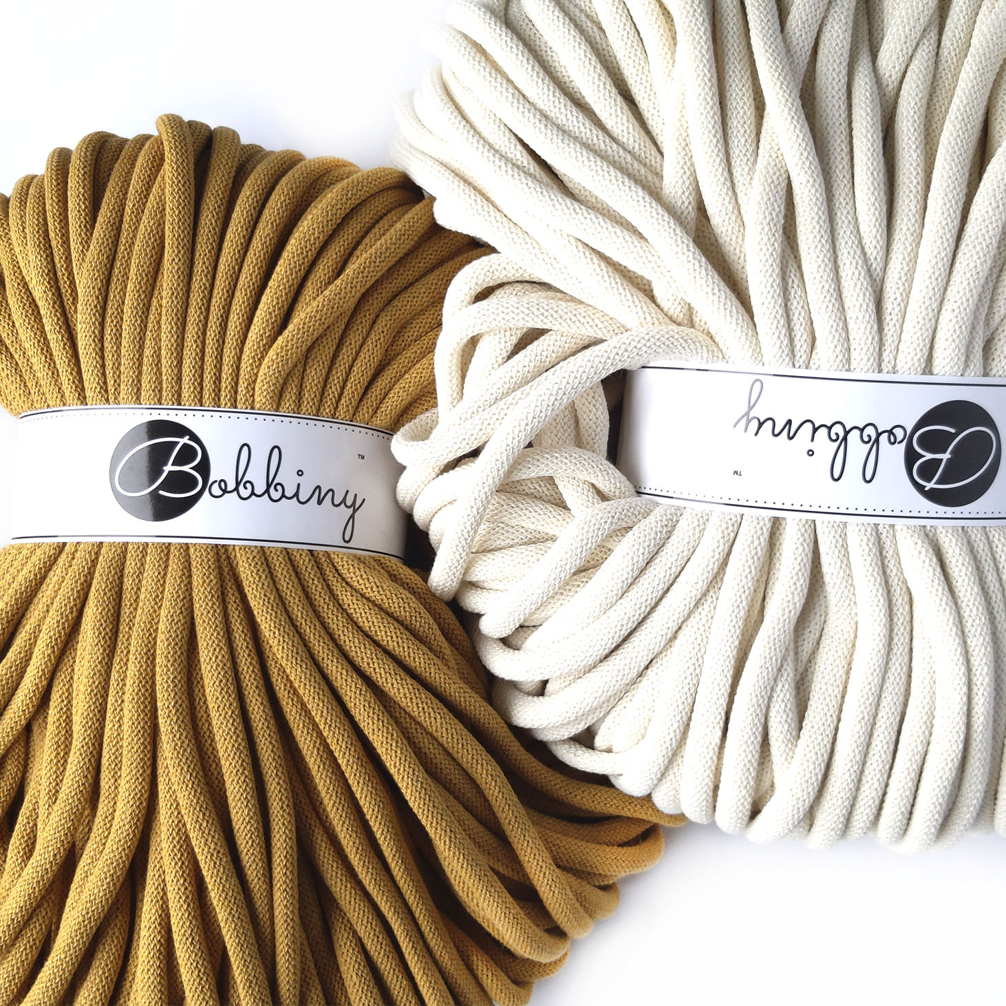 Шнур для вязания и макраме Bobbiny Jumbo