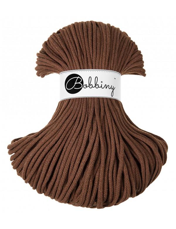 Хлопковый шнур Bobbiny Шоколад 5мм