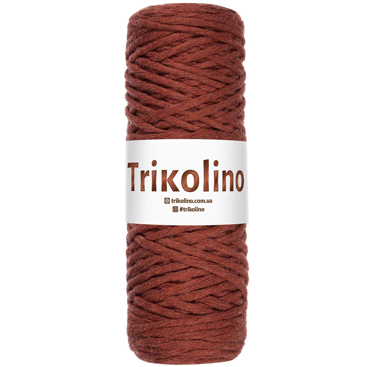 Шнур для макраме Trikolino Терракота 4-6мм