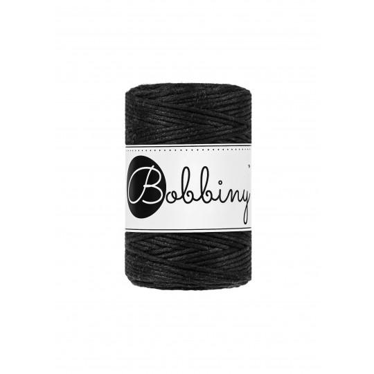 Шнур для макраме Bobbiny Черный 1,5мм