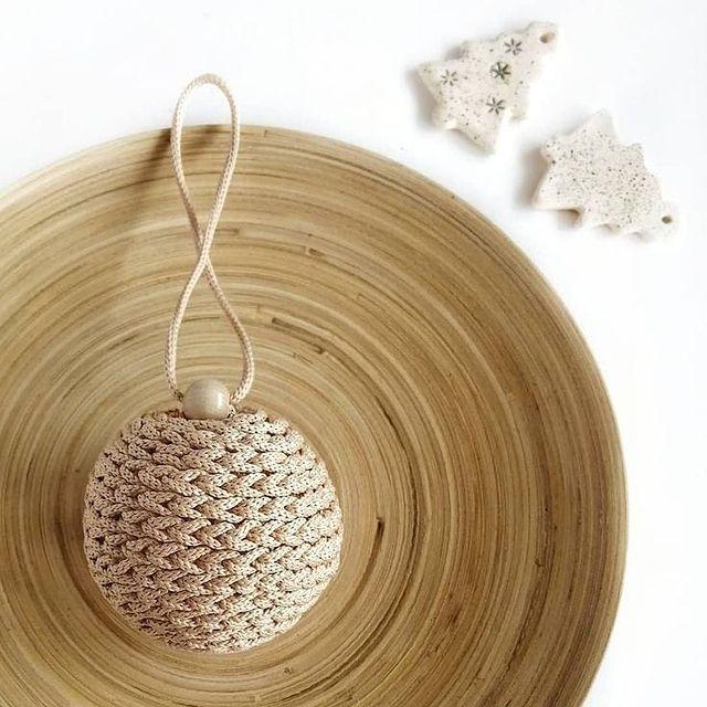 Схема вязания шарика