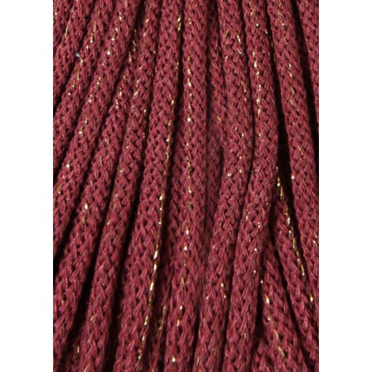 Хлопковый шнур для вязания Bobbiny Golden wild rose 5мм