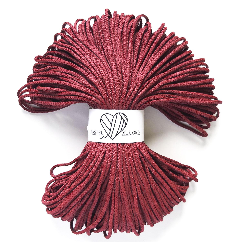 Полипропиленовый шнур Pastel XL cord Вишневый