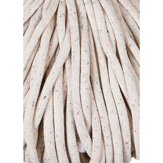 Шнур для вязания Bobbiny Jumbo Rainbow dust 9мм