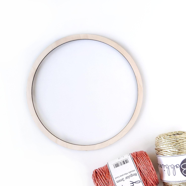 Кольцо для макраме 18см
