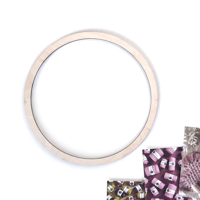 Кольцо для макраме 20см
