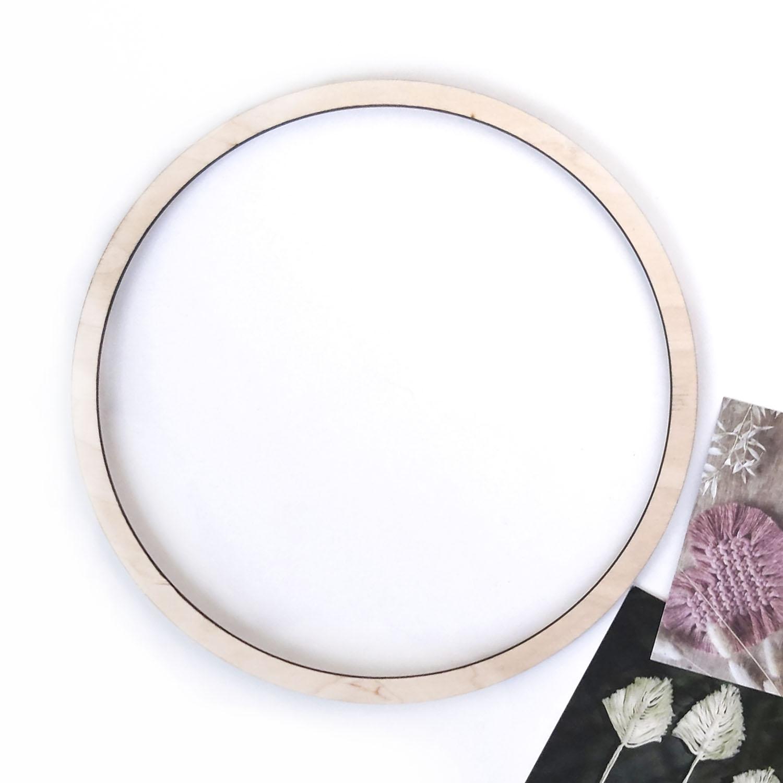 Кольцо для макраме 22см