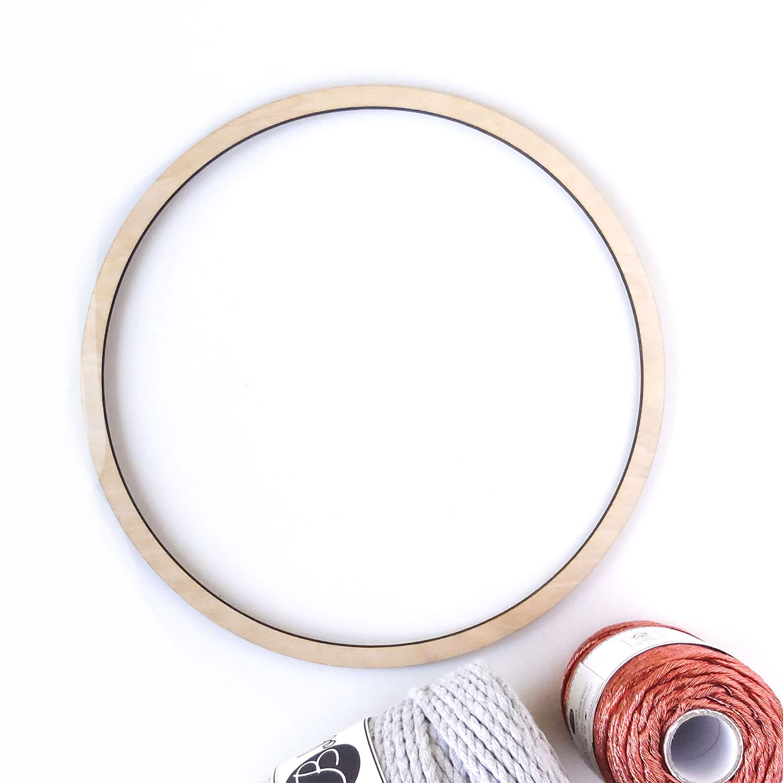 Кольцо для макраме 24см